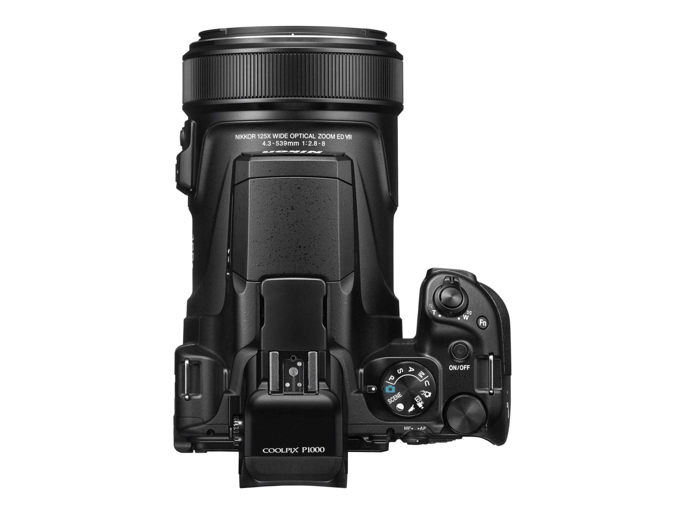 buy popular 29be9 6ca04 Nikon Coolpix P1000 Super Zoom Svart - Ernstsonfoto AB