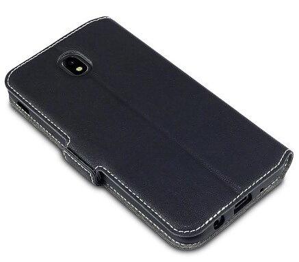 Mobilväska Samsung Galaxy J7 2017 Svart Slim 90f4d9b74265e