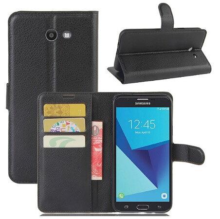 Mobilväska Samsung Galaxy J7 2017 Black w Stand ff92cf084588b