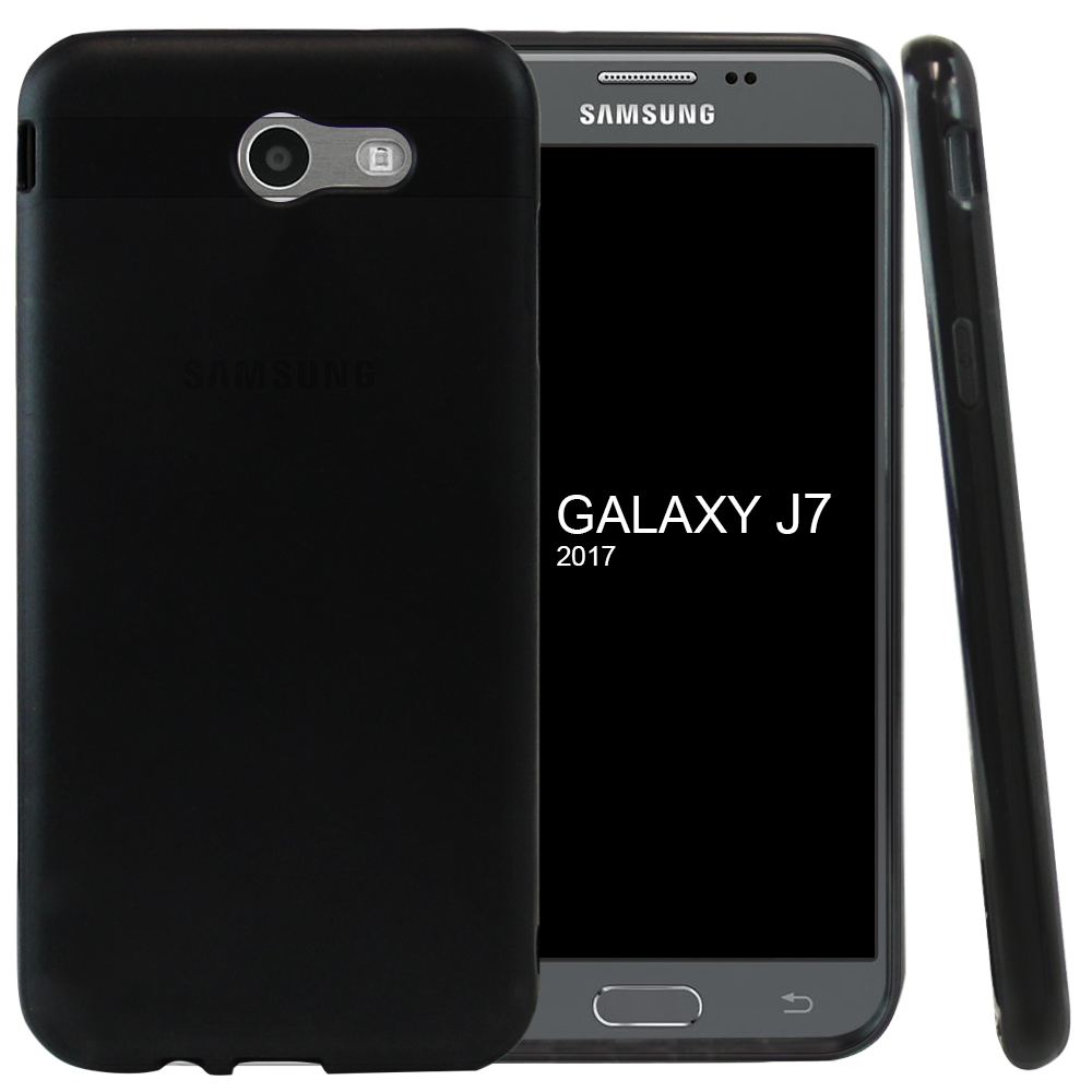 Mobilskal Samsung Galaxy J7 2017 Solid Black - www.skal-man.se 6531c04553a11