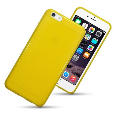 mobilskal iphone 6 Plus 6S Plus Yellow - www.skal-man.se 54973f88b6fe1