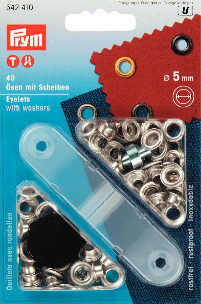 Öljetter 5mm 40 st - Knappshoppen 3df81c3099370