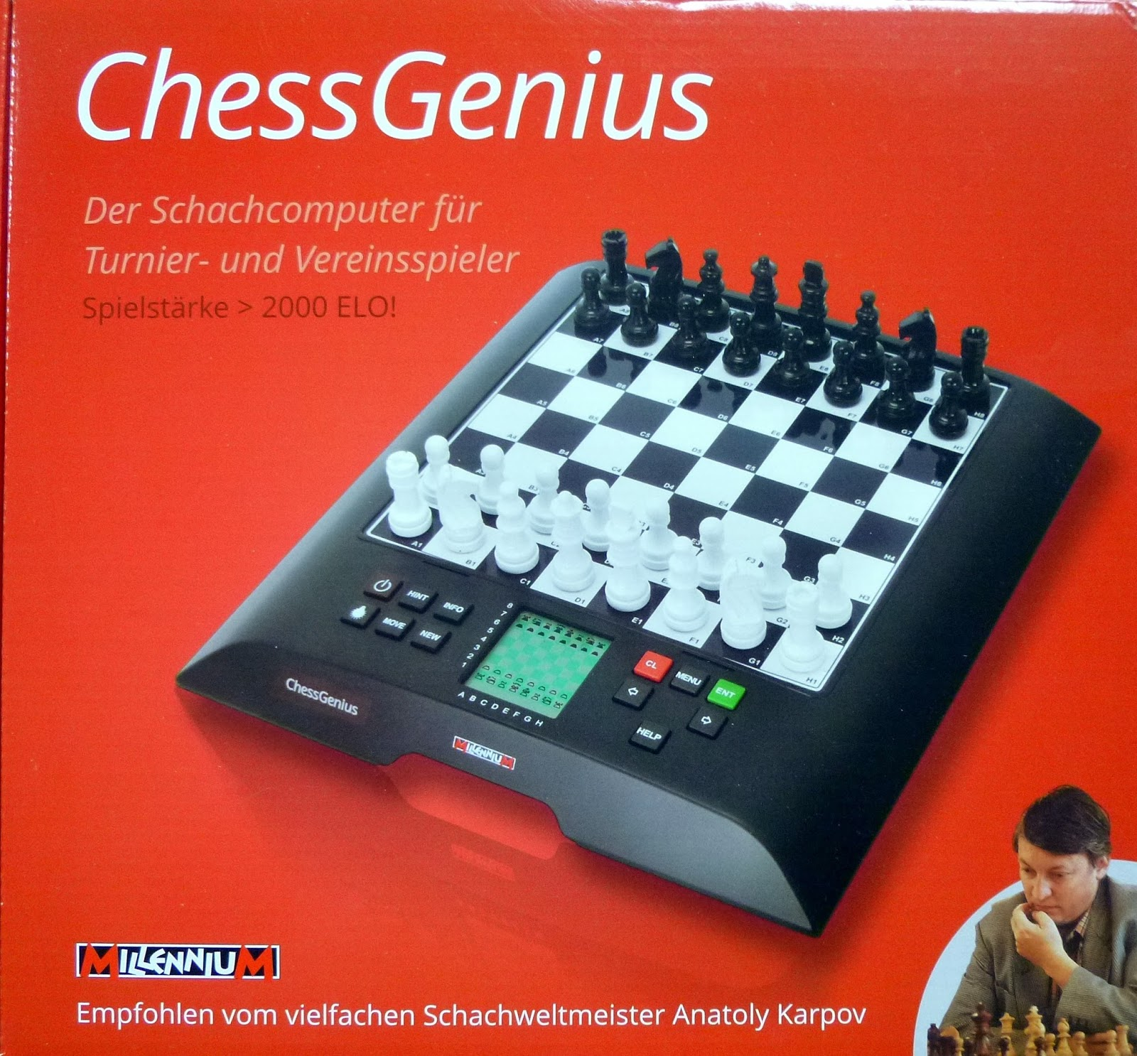 Kasparov besegrade schackdator