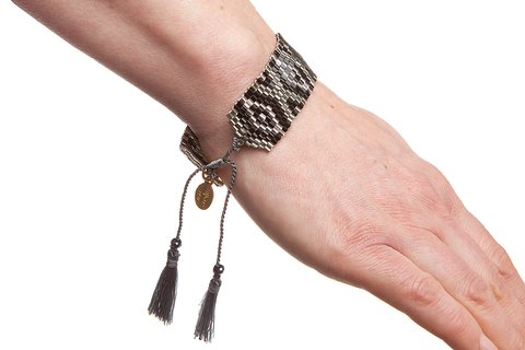 Bijoux by Us Aztec Silver armband 4e836fe11956a