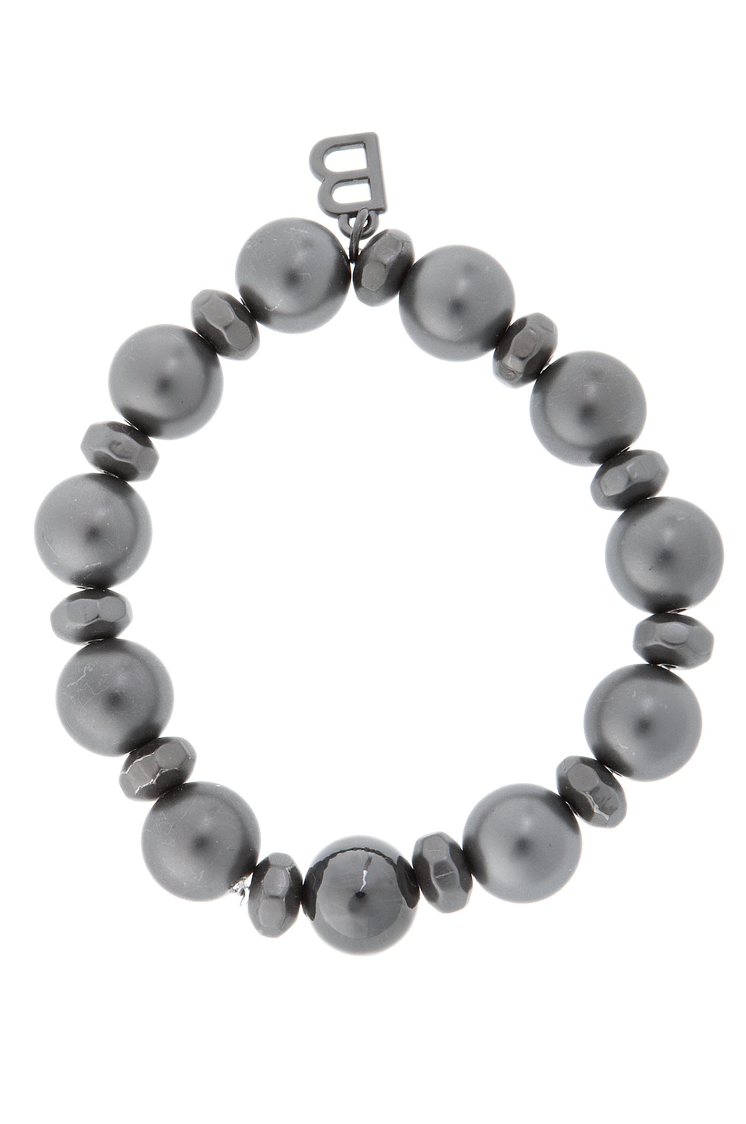vildavi - baglady - armband - mimmi - svart / grå