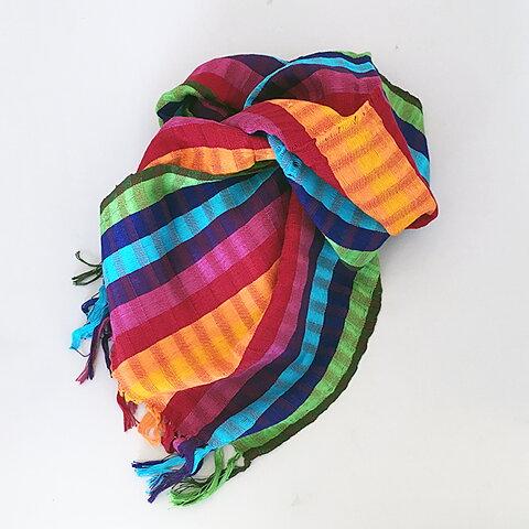 Bomullssjalar Fair Trade - Green och grejerna a7078bbc61124