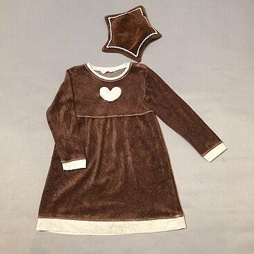Pepparkaksklänning 122 secondhand 137ac5b2e7826