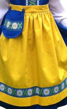 5215fab69b6 Sverigeklänning - Sverigedräkt
