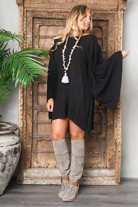 Sangria Dress Black Alexandrassaker