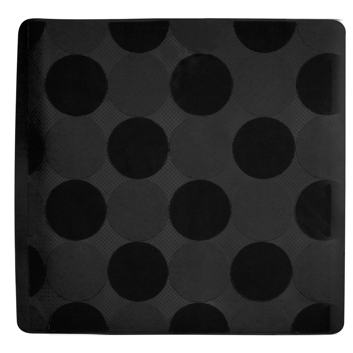 Bubbles Shower Mat (black)