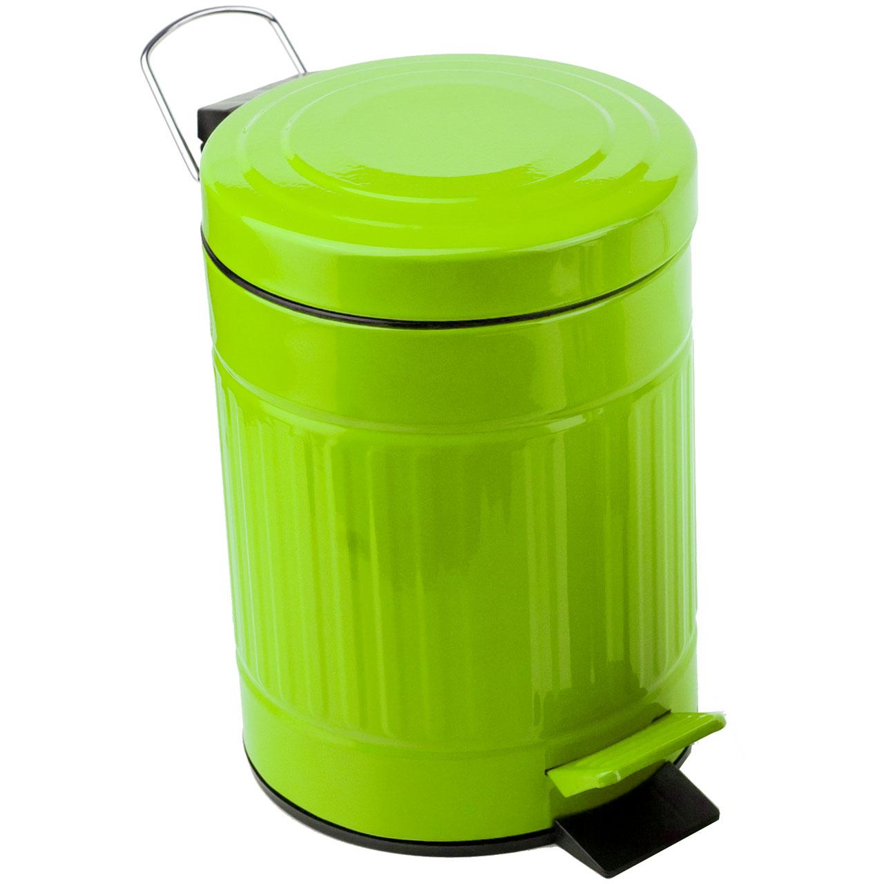 Plåtis Lime Green Pedal Bin