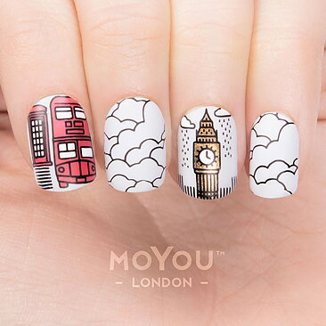 Moyou London Stamping Nail Art Plate Scandi