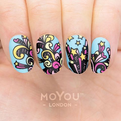 Moyou london stamping nail art plate princess 17 moyou london stamping nail art plate princess 17 prinsesfo Images