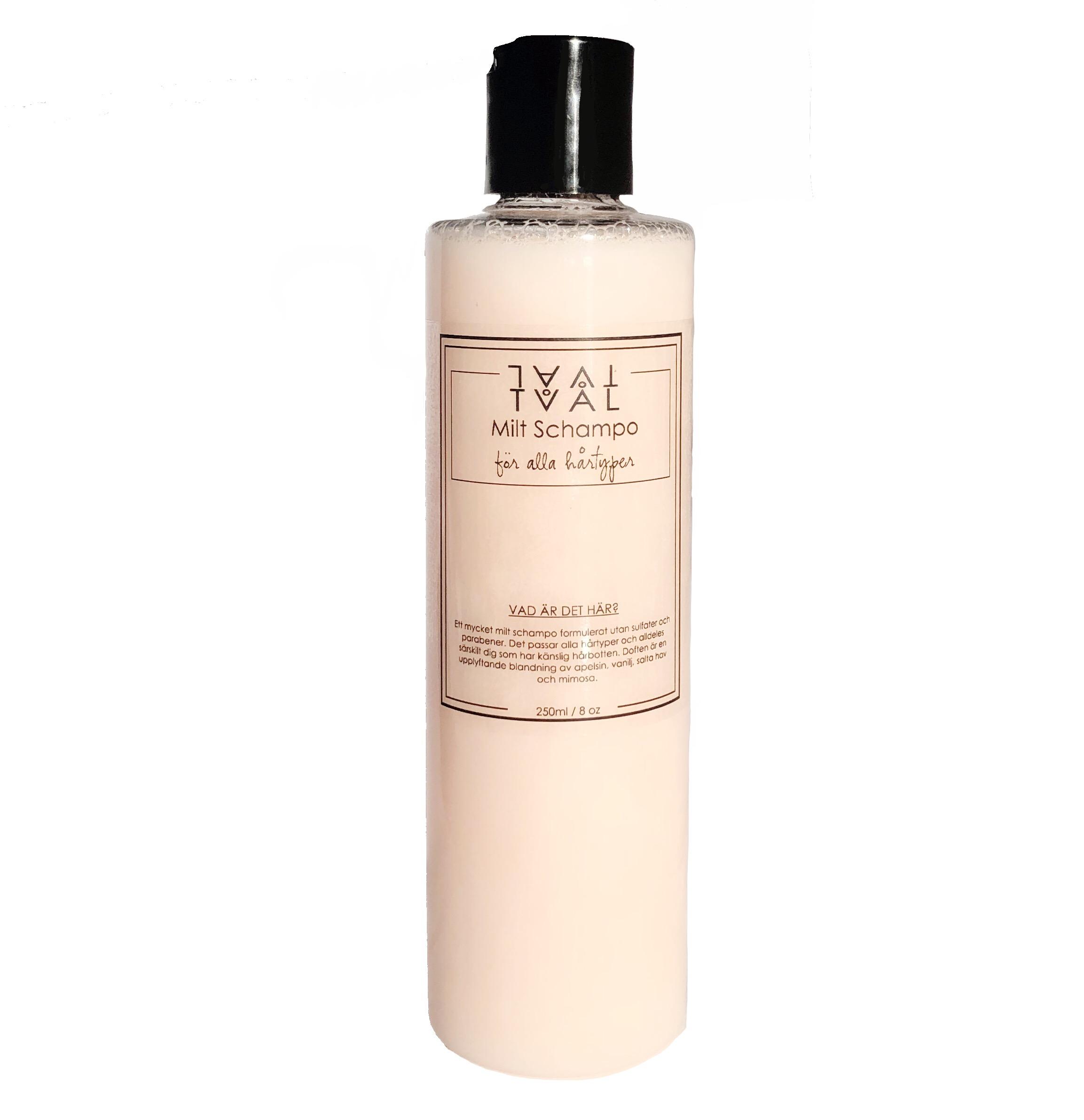 schampo utan sulfater och parabener