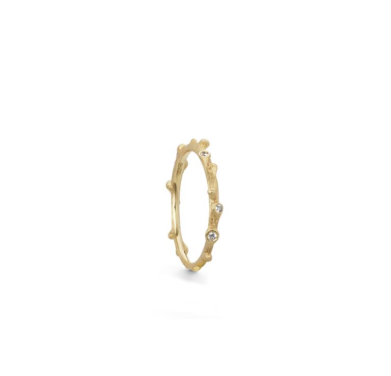 Nature Ring Diamanter Rödguld - Bohlins Guldsmedsaffär 63c85c7f318d0