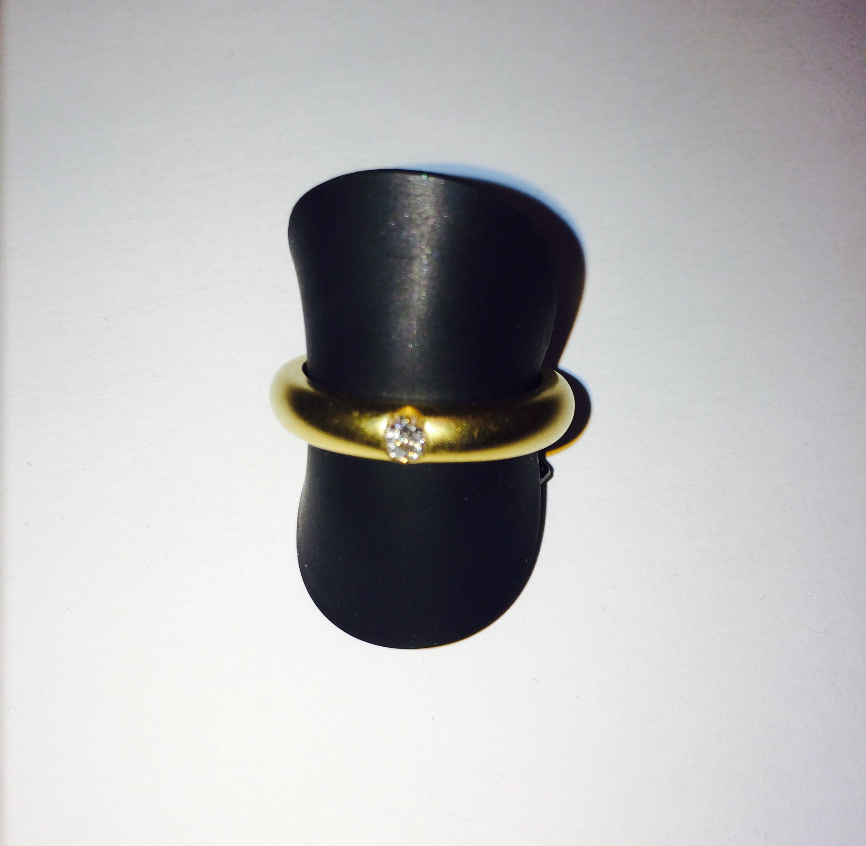 Kupad Diamantring - Bohlins Guldsmedsaffär 8495c00f27030