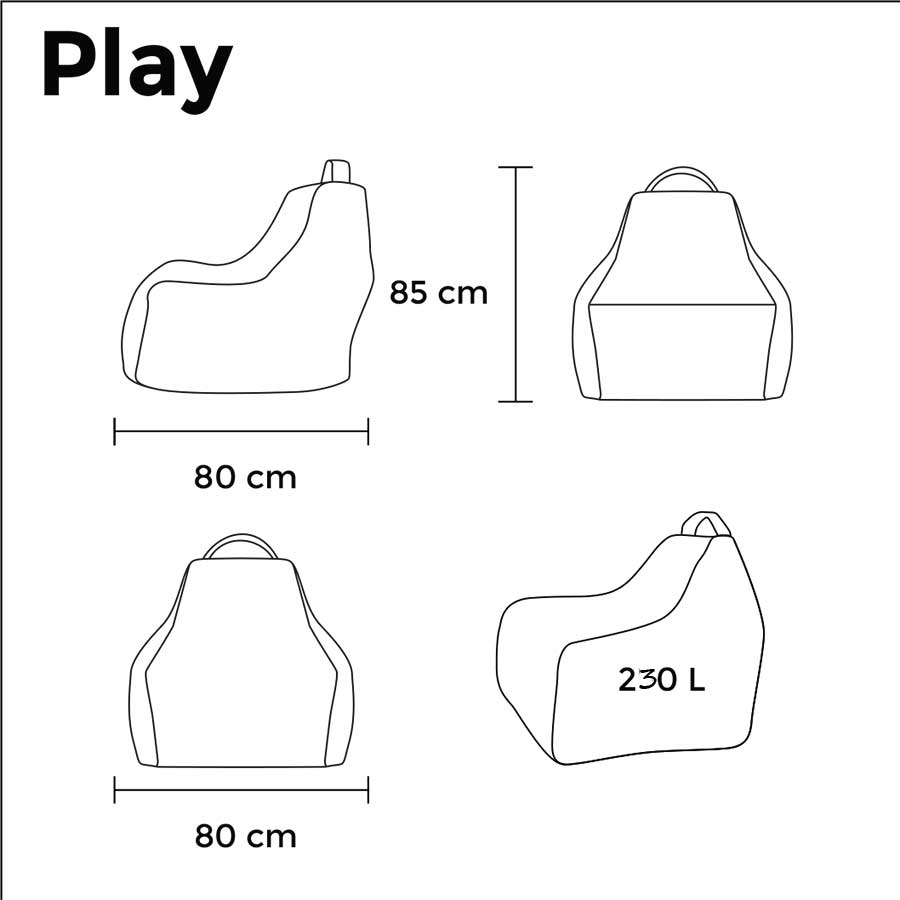 play ox his sack with own print pusku pusku bean bags Squirrel Diagram next