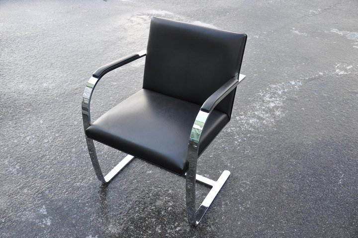 stuhl knoll brno e01m 4200 ludwig mies van der rohe. Black Bedroom Furniture Sets. Home Design Ideas