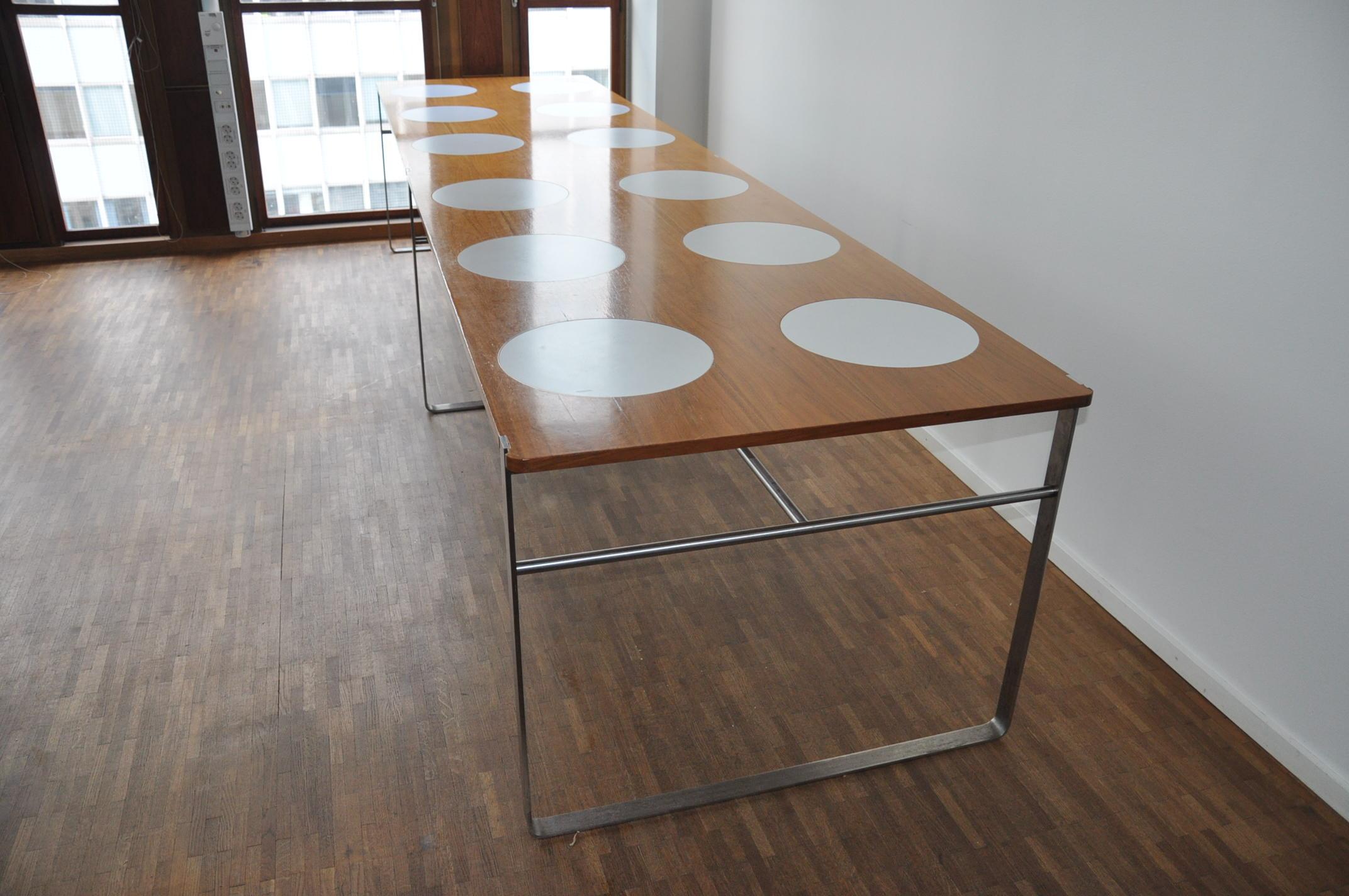einzigartiger esstisch 360 cm f r 12 personen per s derberg gebraucht ist. Black Bedroom Furniture Sets. Home Design Ideas