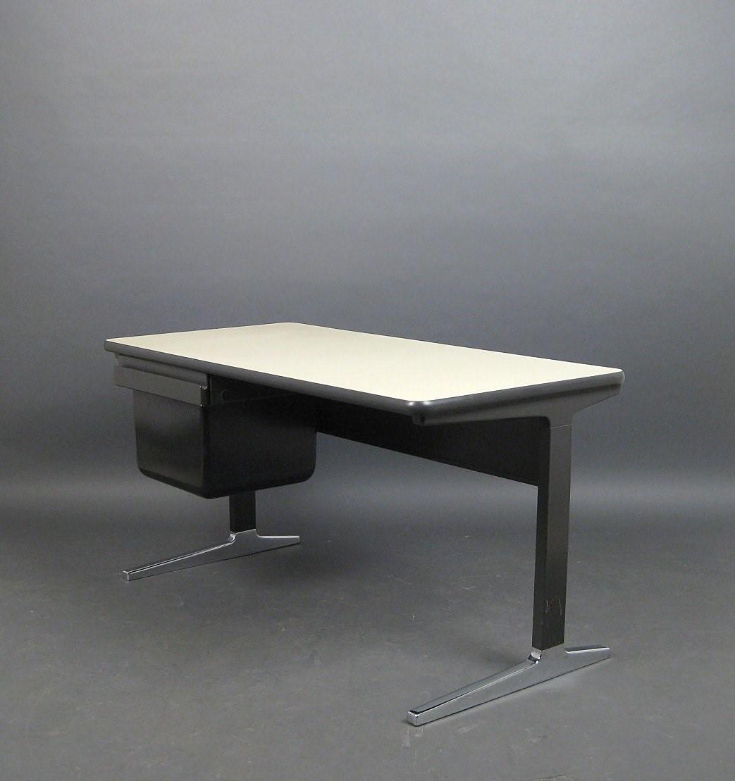 Vintage Desk, Herman Miller 1220 Action Office George Nelson
