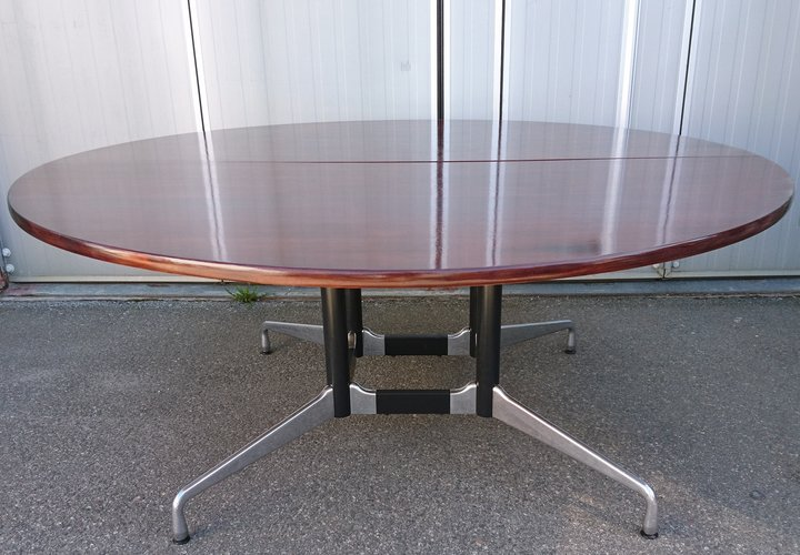 Conference Table Vitra Round Dining 180 Cm Charles Ray Eames