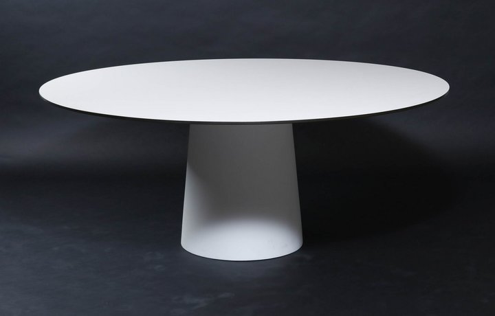 Container Tafel Moooi : Round table moooi container table hpl 180 cm marcel wanders
