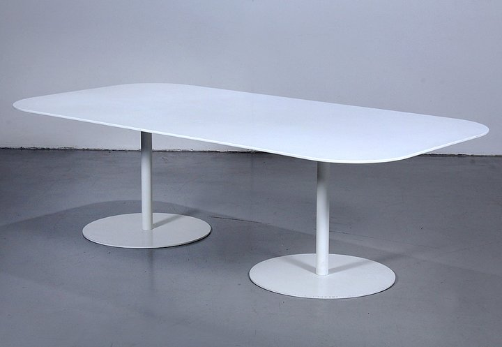 Conference Table Gubi Table Specially Ordered With Corian - Corian conference table