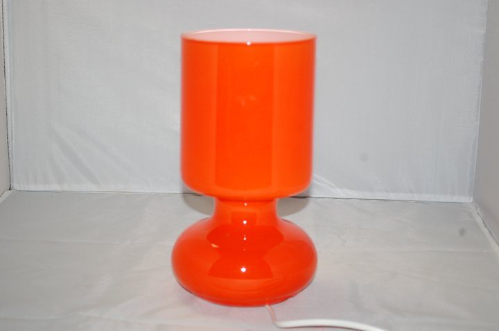 Table Lamp Retro Ikea Lykta Orange Allforsale Se