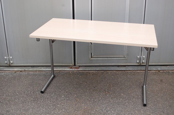 Folding Table Foldable Conference Table AllForSalese Used Is - Fold away conference table