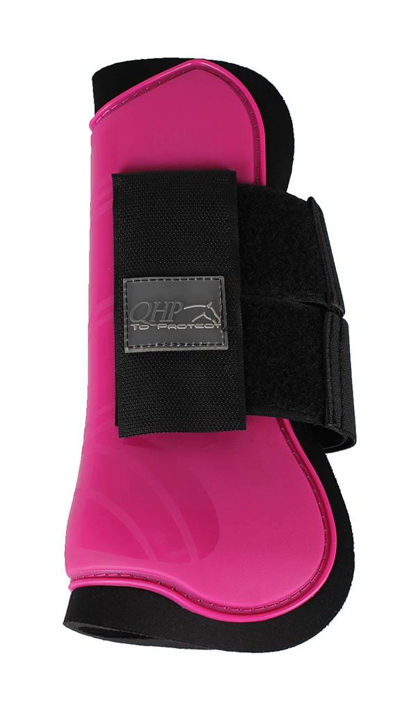 rosa benskydd häst