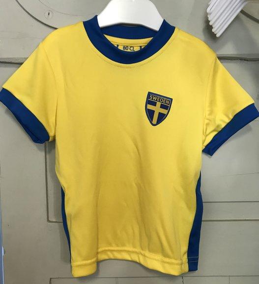 74f9db1e5c5b Fotbolls tröja Sverige Barn - Sverigedräkter
