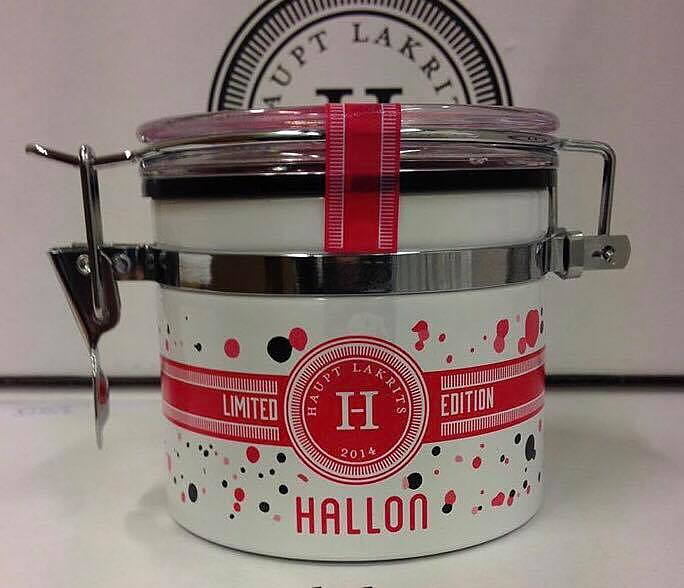 Haupt lakrits Hallon/ vit choklad