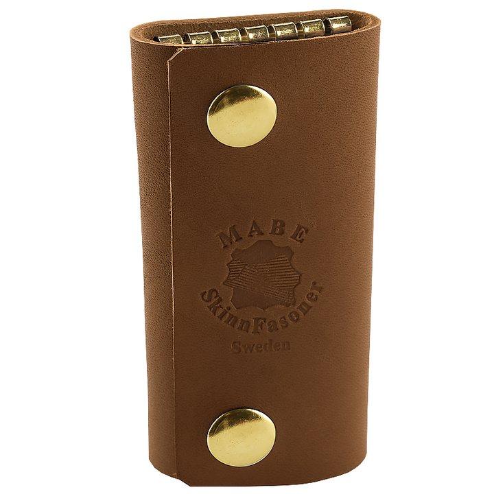 Key holder in cognac gold - Leather of Sweden 904de8527c6bd