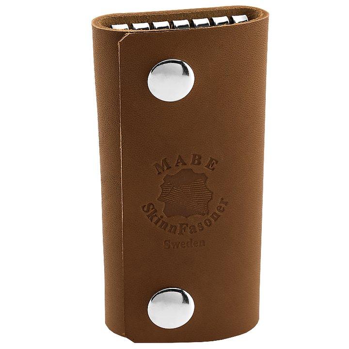 Key holder in cognac - Leather of Sweden b3b60556a58b1