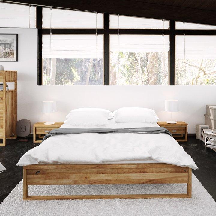 High Bed Frame Minimal - FutoNota