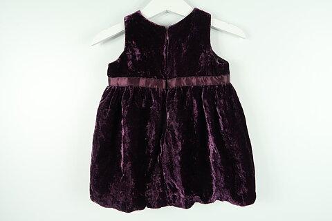 9788e0ae26e4 Festklänning i velour från FIX by Lindex i storlek 68