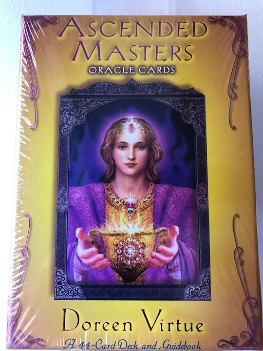 Ascended masters - Oracle cards