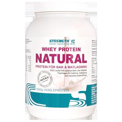 rent proteinpulver utan tillsatser