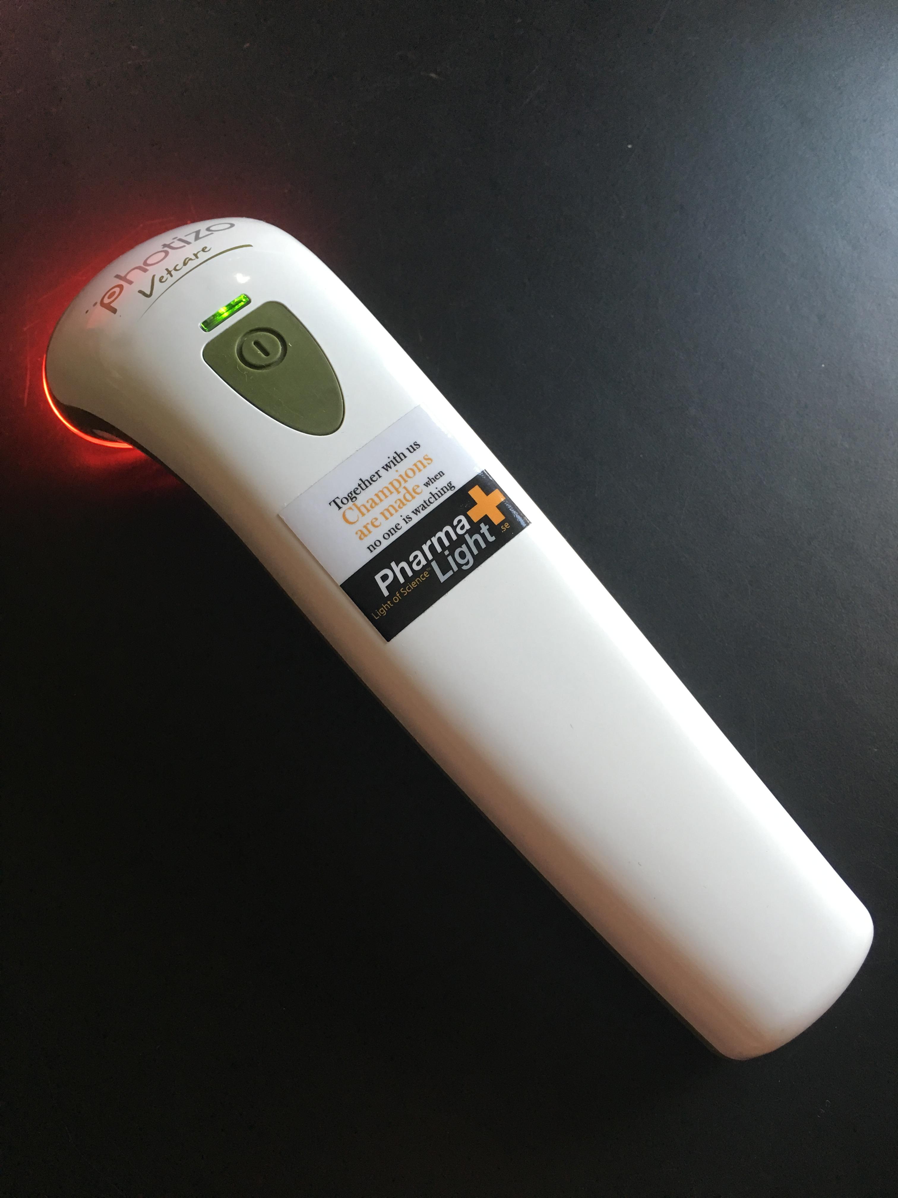 infrarött ljus behandling