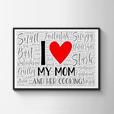 Plotta.se - Present till mamma - I love my mom ... and her cooking! 0f18a188b16f2