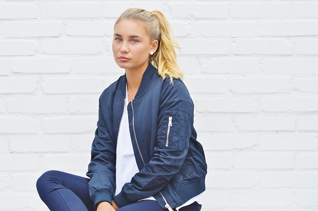 The New bomber by Tessie
