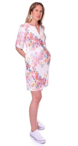 Pernilla Wahlgren Collection - Blossom Wide Sleeve rib Dress cbe0a1710bb57