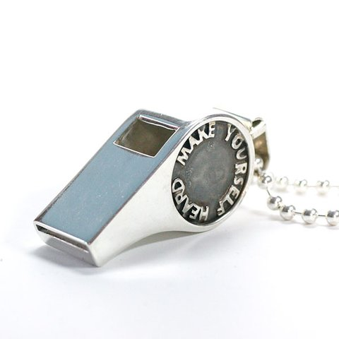 Tin tin scandinavian jewellery whistle blower make yourself whistle blower make yourself heard sterling silver pendant mozeypictures Images