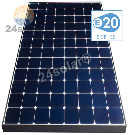 sunpower solar e20 327 res 24 solar online shop f r solarmodulen und photovoltaik pakete in. Black Bedroom Furniture Sets. Home Design Ideas