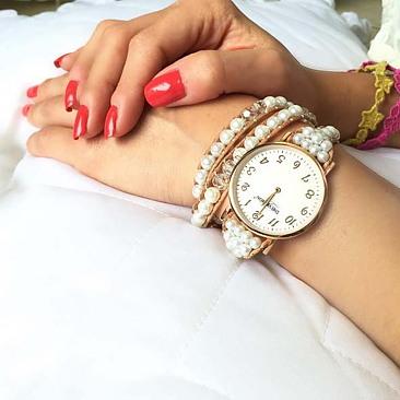 Pure White - Triple Wrap - Women´s Watch