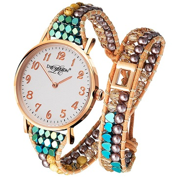 Safari - Double Wrap - Women´s Watch