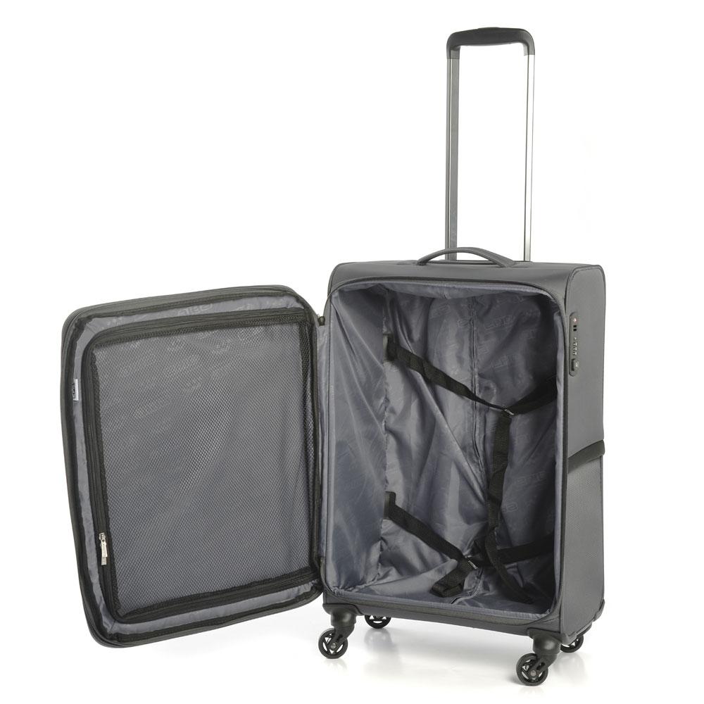 Mjuk resväska - EPIC Quantum 67 Grey - PICKPACK 3e296abb925bb