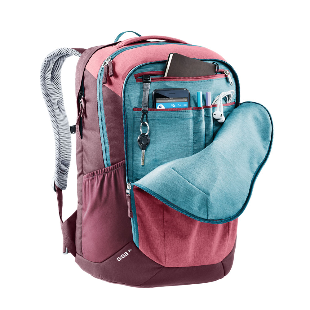 Mångsidig ryggsäck - DEUTER Giga SL Red - PICKPACK 96cd539603d0a