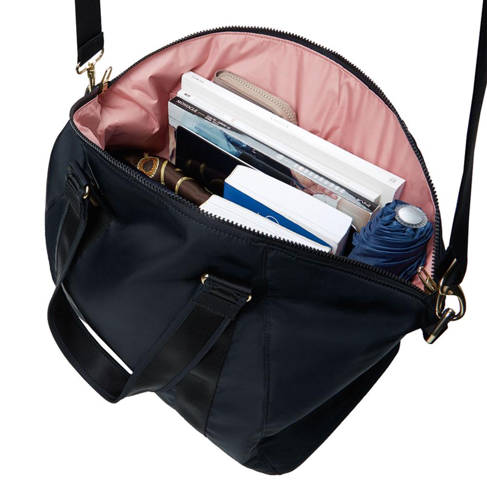 Stöldsäker väska - PACSAFE Citysafe CX Tote Black - PICKPACK b85c52a2507fe