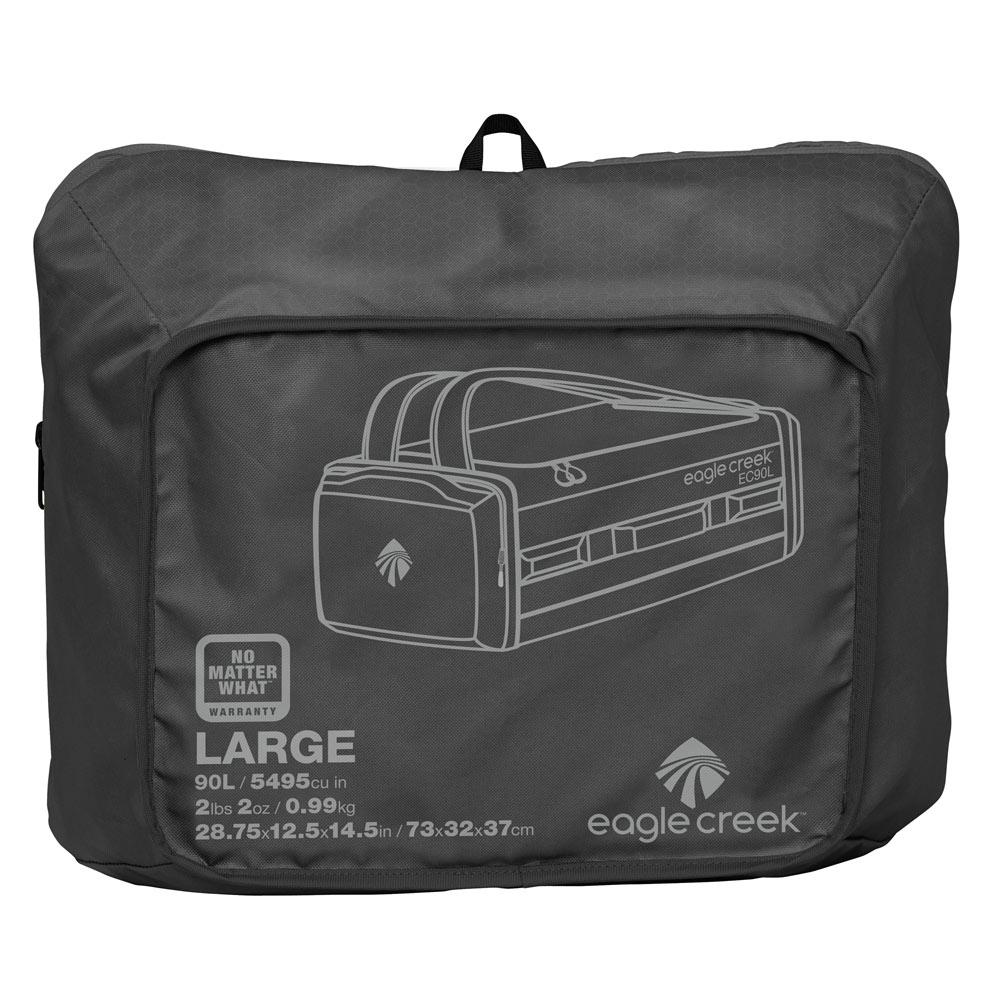 Duffelväska ryggsäck - EAGLE CREEK Cargo Hauler Duffel 90 Black ... f1af21d766529